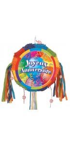 Pinata Joyeux anniversaire Ballons 45 cm