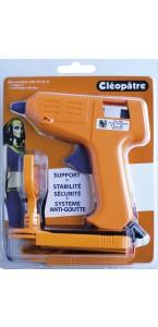Pistolet à colle avec sa base de maintien
