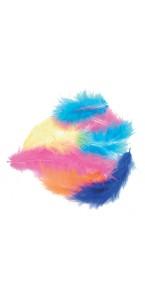 Plumettes multicolores 5 gr