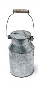 Pot à lait zinc 10 x 16 cm