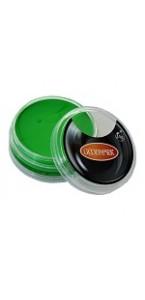 Pot de Maquillage à l'eau  vert sans paraben 14g