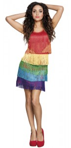 Robe Flapper Rainbow Taille M