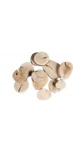 Rondins bois naturel 250 gr