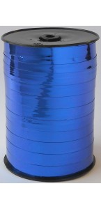 Rouleau de bolduc miroir bleu 250 m