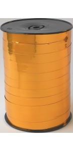 Rouleau de bolduc miroir curry 250 m