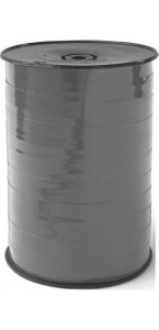Rouleau de bolduc miroir gris 250 m