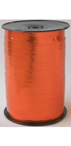 Rouleau de bolduc miroir mandarine 250 m