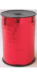 Rouleau de bolduc miroir rouge 250 m