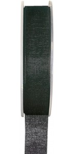 Rouleau de ruban organdi noir 25 m