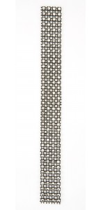 Rouleau de ruban strass noir 2 cm x 2 m