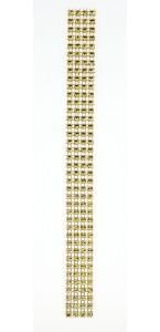 Rouleau de ruban strass or 2 cm x 2 m