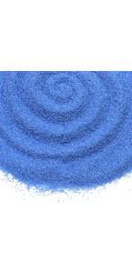 Sable coloré bleu
