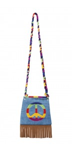 Sac Peace and Love en tissu
