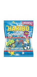 Sachet bonbons Schtroumpfs Pik Haribo 120 g