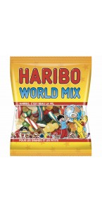 Sachet bonbons World mix Haribo 120 g