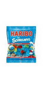 Sachet de bonbons Schtroumpfs Haribo 120 g