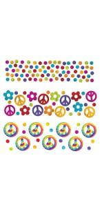 Sachet de Confettis de table Groovy 60's 14 gr