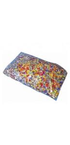 Sachet de confettis multicolore 1 kg