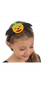 Serre-tête Citrouille Halloween
