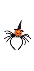 Serre-Tête noir citrouille Halloween 29 x 12 x 6 cm
