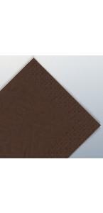 Serviettes cacao en papier ouate 2 plis 25 x 25 cm AVA