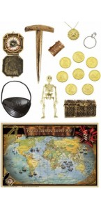 Set accessoires de pirate luxe