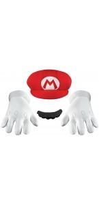 Set accessoires Mario Bros adulte