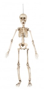 Squelette articulé à suspendre Halloween