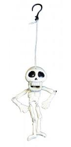 Squelette pantin Halloween