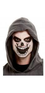 Tatouage grande bouche ouverte temporaire Halloween