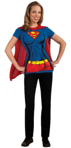 Tee-shirt imprimé Supergirl adulte taille M