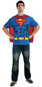 Tee-shirt imprimé Superman adulte taille L