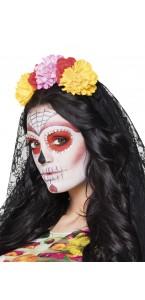Tiare La madrina avec voile Halloween