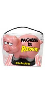 Tirelire Cochon Retraite