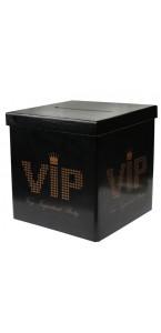 Tirelire VIP noire