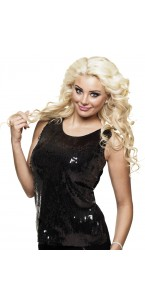 Top sequins noirs Taille M