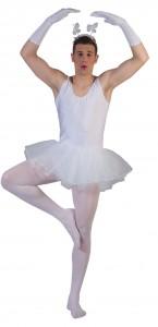 Tutu de Ballerine homme blanc