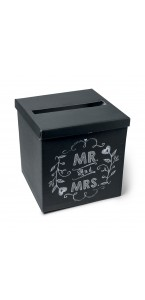 Urne noire MR and MRS 30 cm