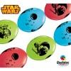Lot de 10 ballons double attache Star Wars en latex 30 cm