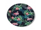 Lot de 12 assiettes Tropical D 23 cm
