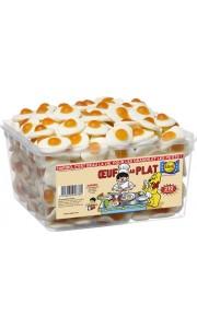 Boîte de bonbons Oeuf sur le plat Haribo