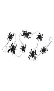 Guirlande araignées  Halloween 150 cm