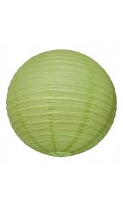 Lanterne vert lime en papier D 50 cm