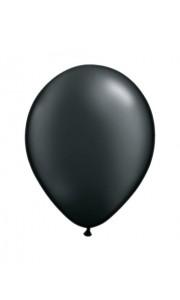 Lot de 100 mini-ballons de baudruche en latex nacré noir