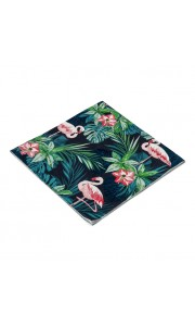 Lot de 20 serviettes jetables Tropical 3 plis33 x 33 cm