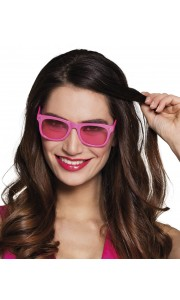 Lunettes Dance rose fluo