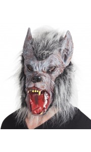 Masque de loup garou intégral Halloween adulte