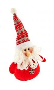 Père Noël en tissu 30 cm