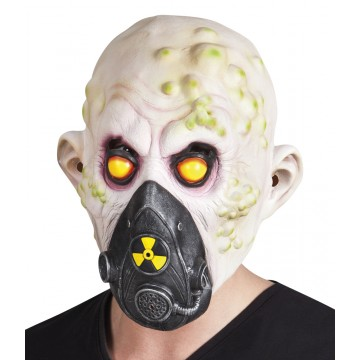 Masque Victime nucléaire en latex Halloween