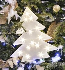 Luminaires de Noël à poser
